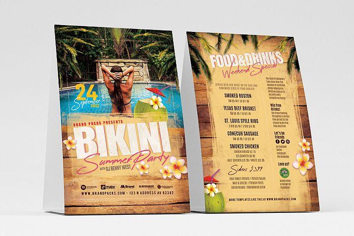 Bikini Party Flyer Template
