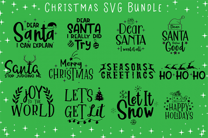Christmas SVG Bundle