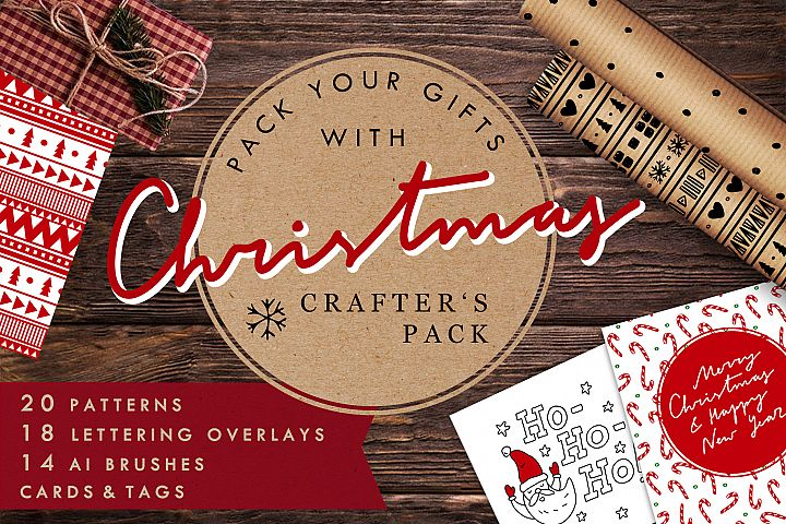 Christmas Crafters Pack for DIY projects