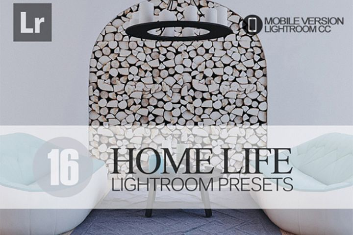 16 Home Life Lightroom Mobile bundle Presets for Lightroom M