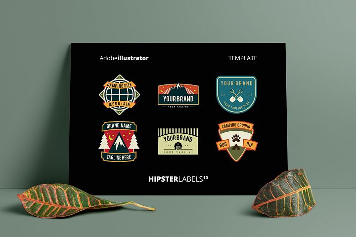 Hipsters Labels 10