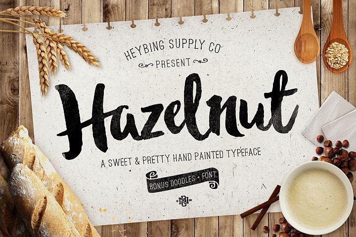 Hazelnut Typeface & Extras