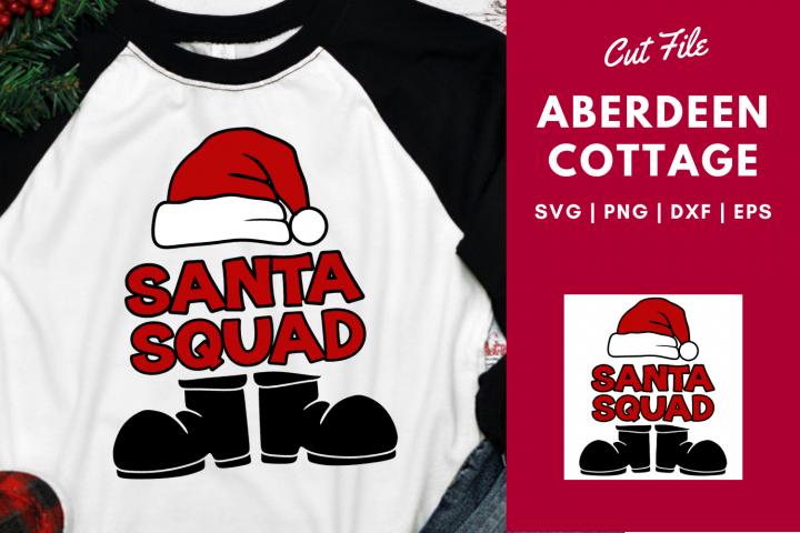 Santa Squad 2 | Santa Hat | Santa Boots | Christmas SVG