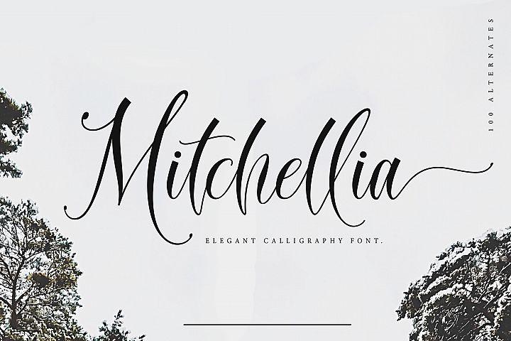 Mitchellia Script - Elegant Script