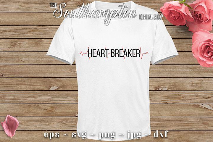 Heart Breaker SVG Cut Files