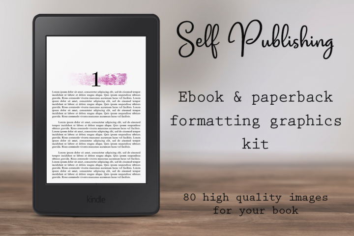 Self-Publishing Book Formatting Graphics Version 26