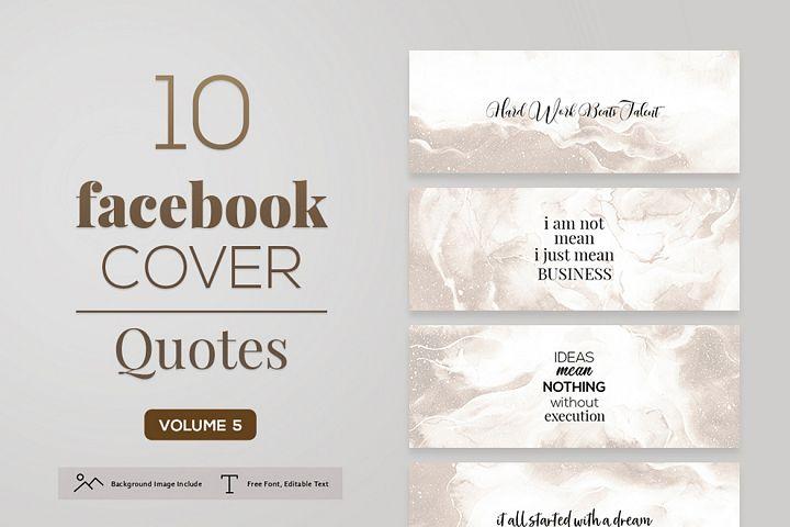 Facebook Cover Quotes Vol. 5