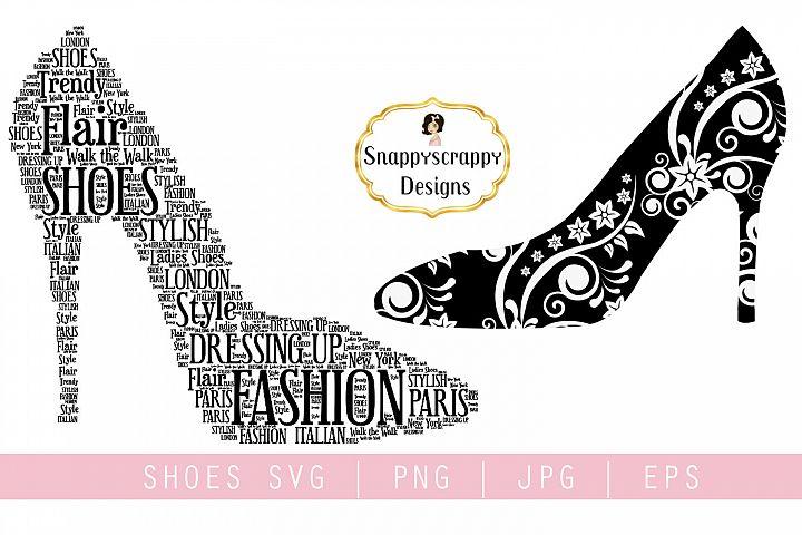 Fancy Shoes SVG