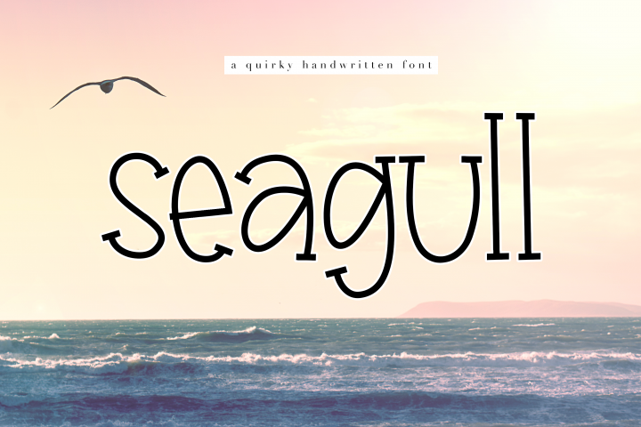 Seagull - A Fun Handwritten Font - Free Font of The Week Font