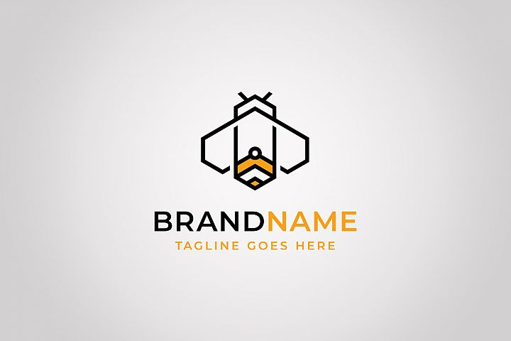 Geometry Bee Logo Template