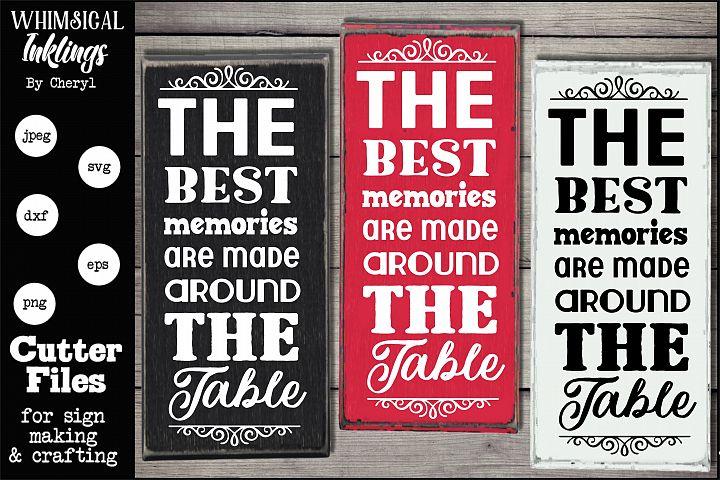The Best Memories-Vertical SVG