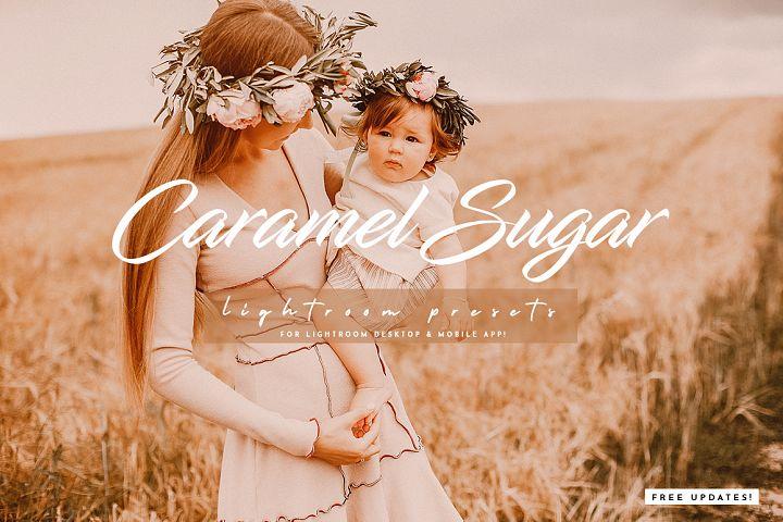Caramel Sugar Lightroom Presets Pack