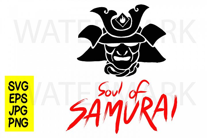 Soul of Samurai - SVG-EPS-JPG-PNG