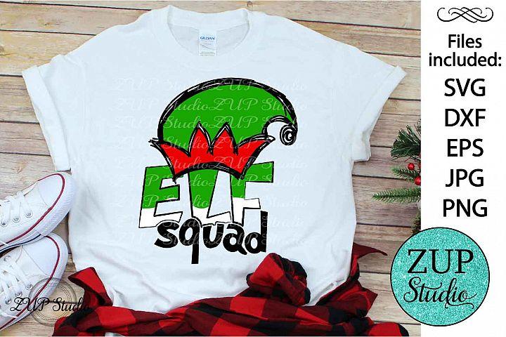 Elf Squad SVG Design Cutting Files 313