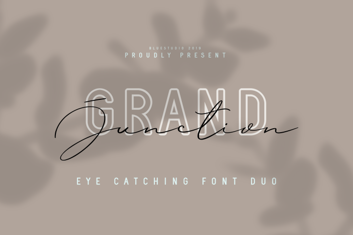 Grand Junction // Font Duo