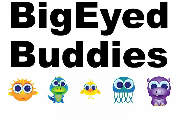 Big Eyed Buddies Ginormous Collection