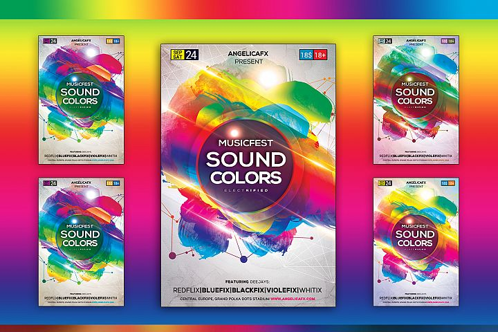 Music Fest Sound Colors