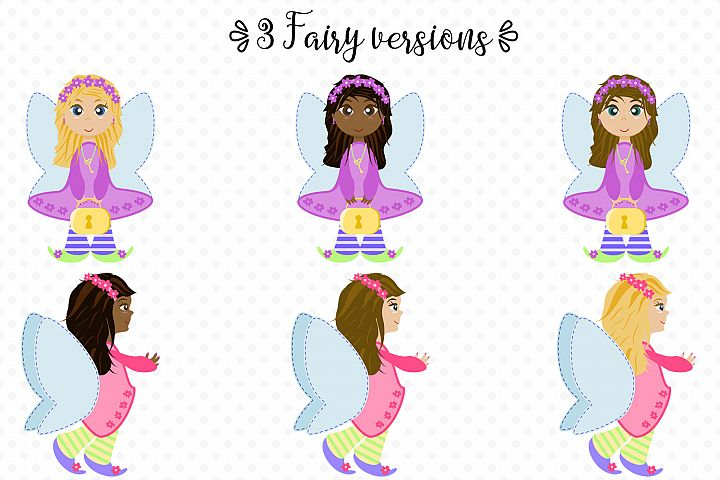 Fairy Secrets - Graphics and Patterns example 1