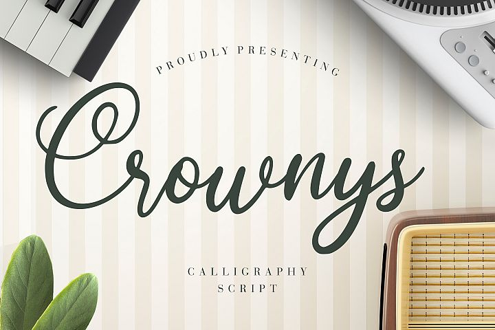 Crownys Calligraphy Script