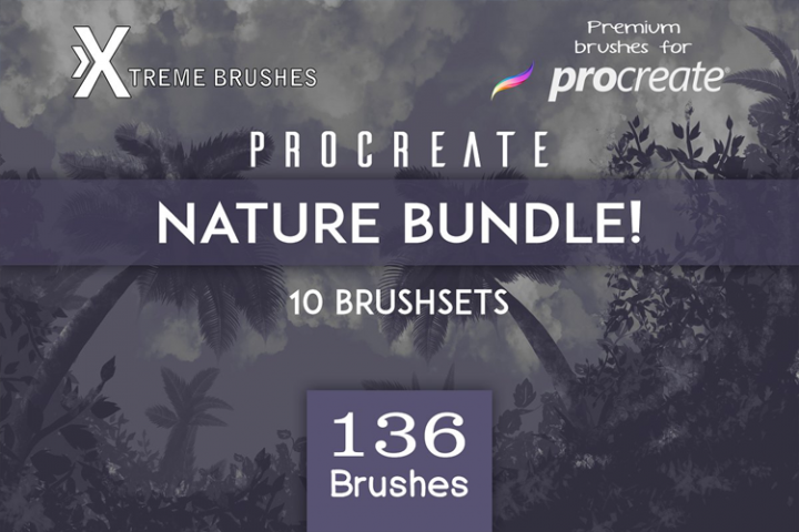 Procreate Nature BUNDLE!