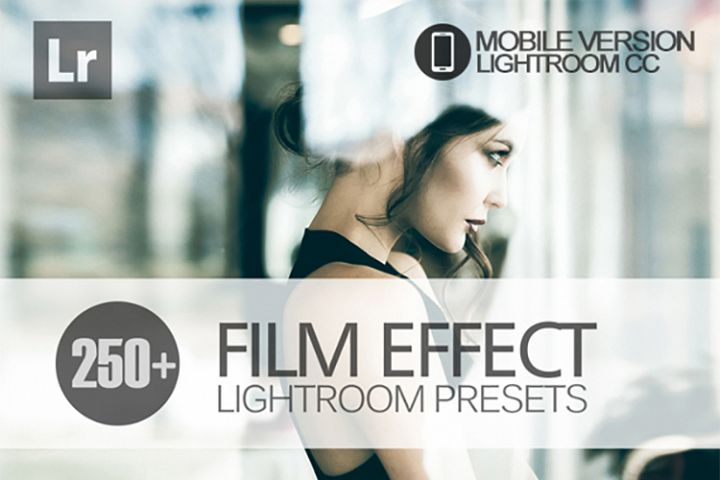 250 Film Effect Lightroom Mobile bundle