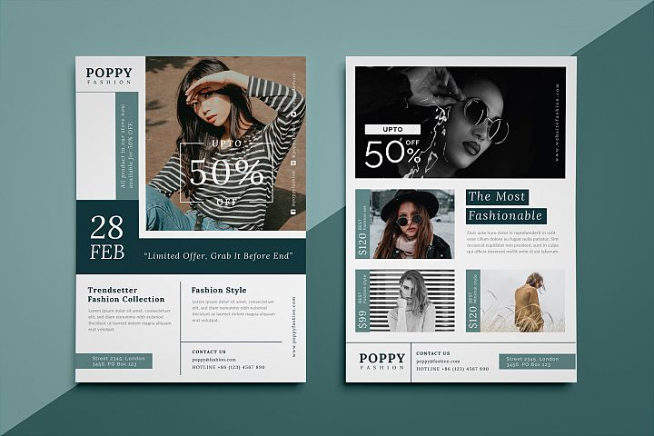 Poppy - Fashion flyer