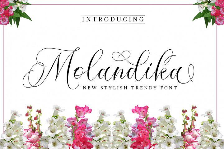 Molandika Script - Elegant Font