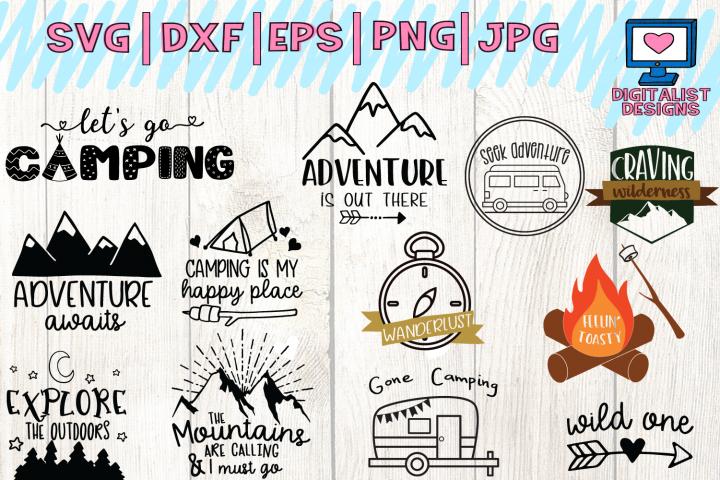 happy camper svg, camping svg, summer svg, happy camper shirt, camper decor, happy campers, dxf, printable, cricut, silhouette, vector
