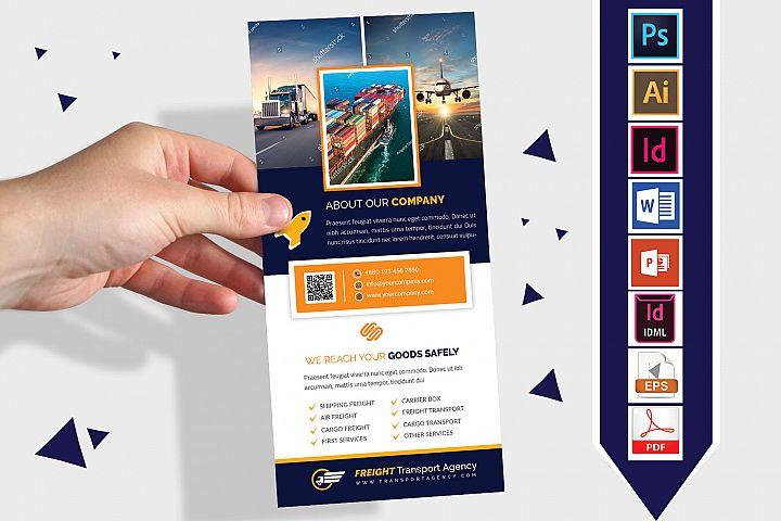 Rack Card | Transport Agency DL Flyer Vol-02