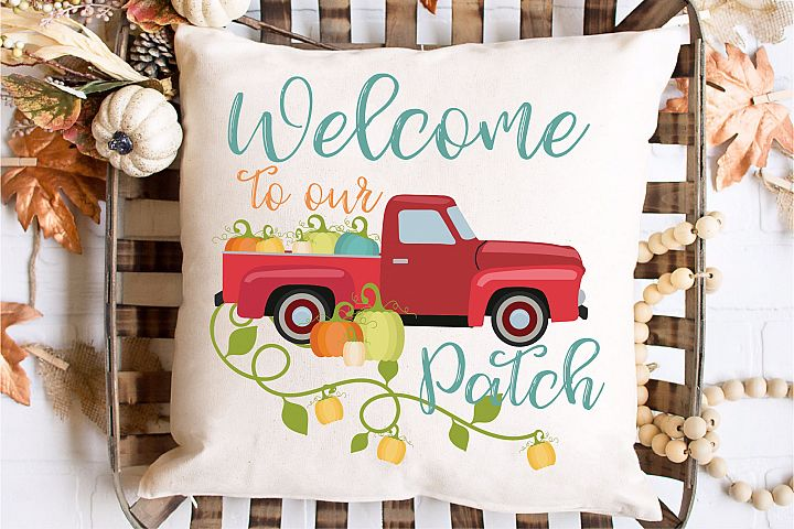 Welcome To Our Patch SVG Sublimation, Home Sweet Home SVG