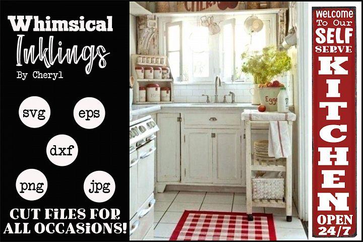 Self Serve Kitchen-Vertical SVG