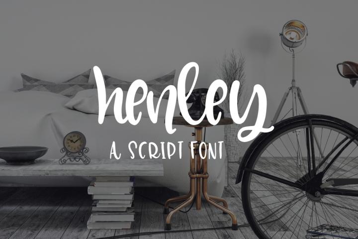 Henley - A Bounce Script