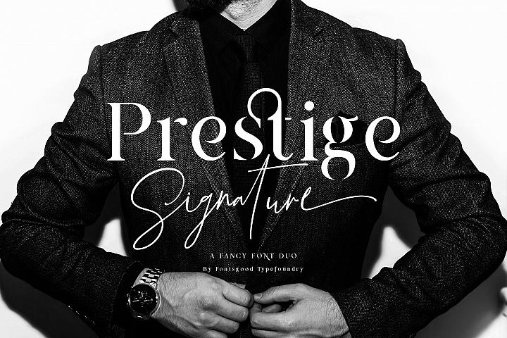 Prestige Signature - Serif & Script