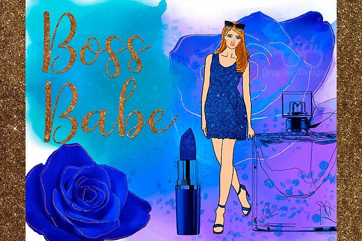 Boss Babe Clipart