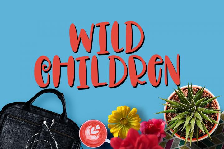 Wild Children - Font