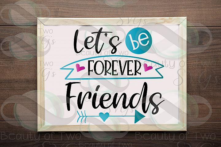 Friends svg and png, Best Friends svg, Friends Forever svg