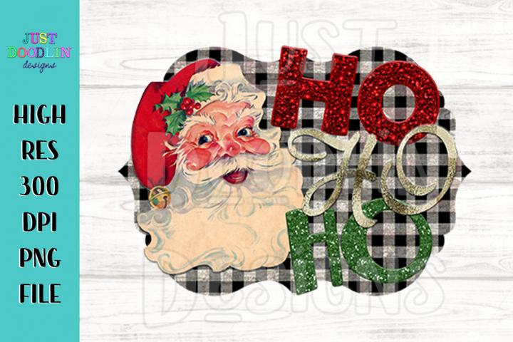Ho Ho Ho Santa PNG file