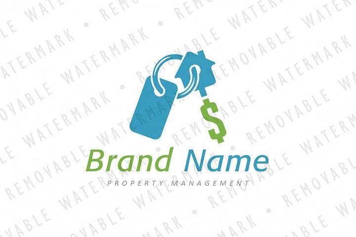 Real Estate Key Ring Logo