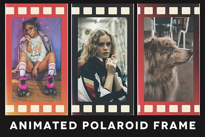 Animated Polaroid Photoshop Template