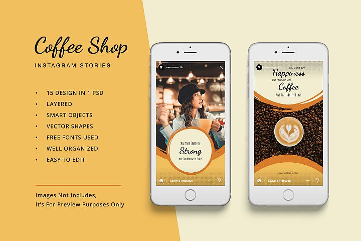 Coffee Shop Instagram Stories