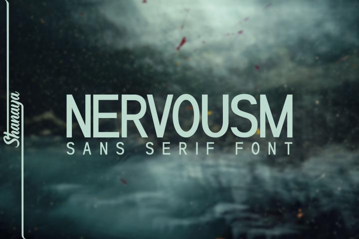 NERVOUSM Font UPDATE| Elegant San Serif Style