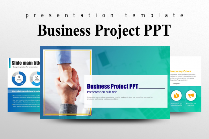 Business Project PPT Template