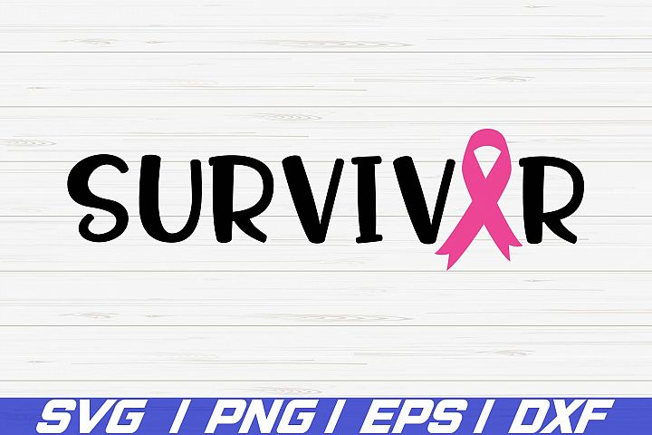 Survivor SVG / Cut File / Cricut / Commercial use / Vector