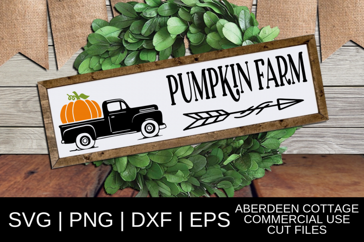Pumpkin Farm SVG