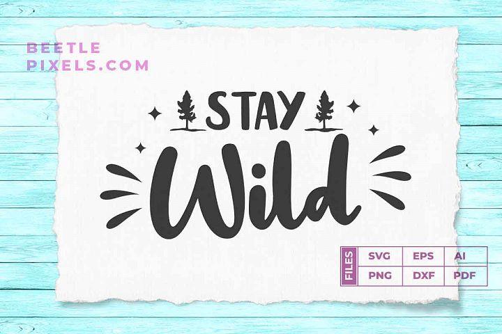 Stay wild campign child
