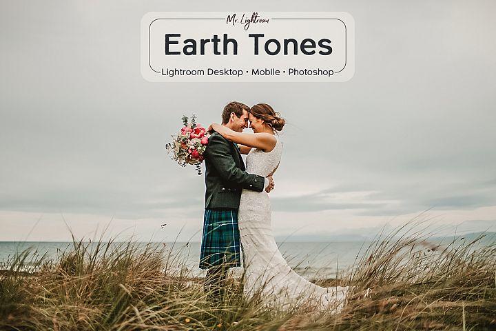 Earth Tones Lightroom Mobile and Desktop Presets
