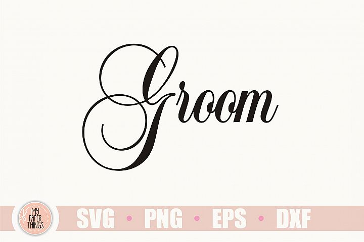 Wedding svg, Groom svg