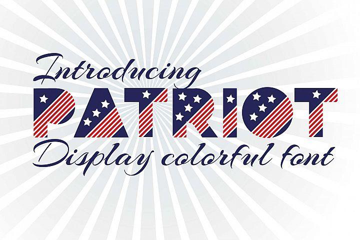Patriot font family