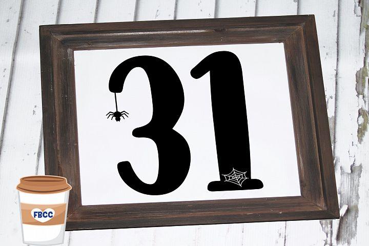 Halloween Sign SVG, Halloween SVG