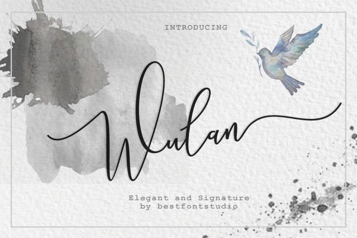 Wulan Script 4 style